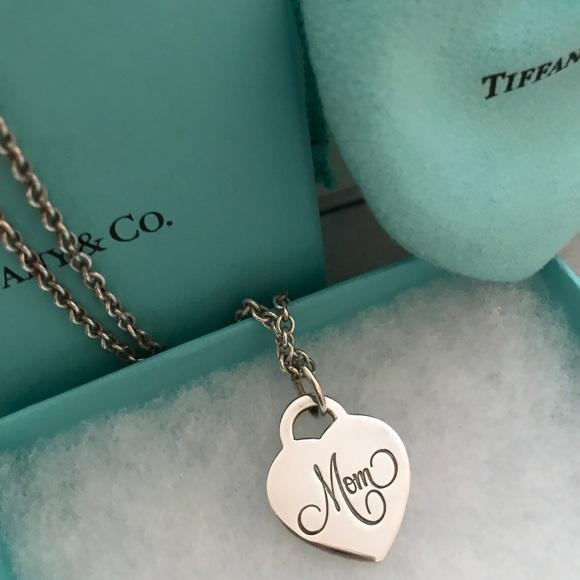 17cf49685 Tiffany & Co. Jewelry | Authentic Tiffanys Mom Necklace | Poshmark